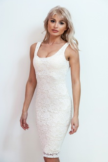 Фото Гипюровое мини-платье Ajore Mini Dress код:  dr60564-1