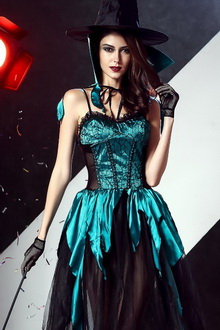 Фото Костюм ведьмы Carnaval Witch Dress код: cos1639