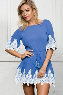 Фото Мини-платье Mini Style Dress  код: dr22257-1