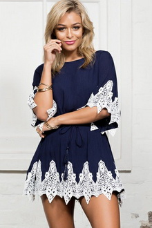 Фото Мини-платье Mini Style Dress  код: dr22257-2