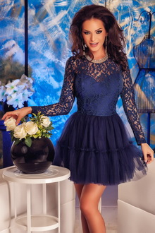 Фото Гипюровое мини-платье Ajore Mini Dress код: dr22566