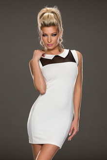 Фото Белое платье Casual Top Dress: dr22868