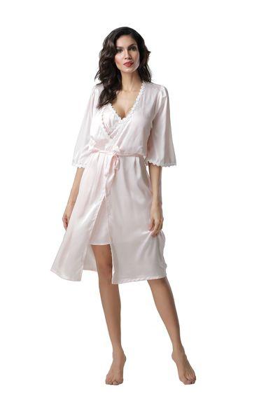 d190b10183149 Шелковый халат - купить в интернет магазине МОНА