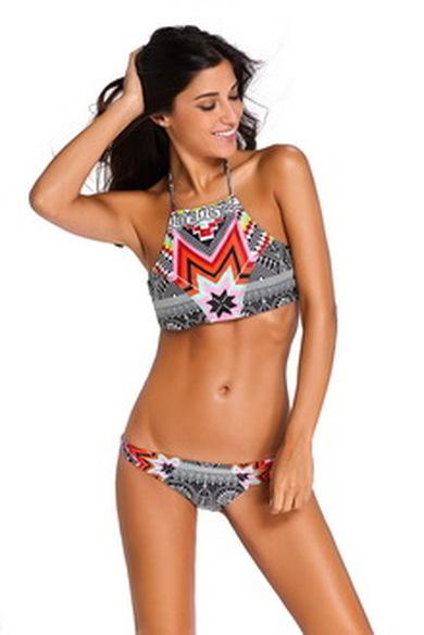 Раздельный купальник Summer Bikini принт код : sw41886-2