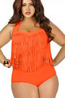 Фото Купальник Plus Size Swimwear  код: sw41307-1