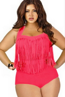 Фото Купальник Plus Size Swimwear  код: sw41307-3