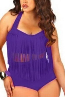 Фото Купальник Plus Size Swimwear  код: sw41307-4