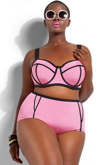 Фото Купальник Plus Size Swimwear  код: sw41435-1