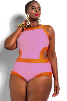 Фото Купальник Plus Size Swimwear  код: sw41441-4