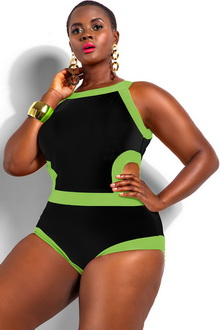 Фото Купальник Plus Size Swimwear  код: sw41441-5