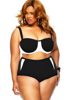 Фото Купальник Plus Size Swimwear  код: sw41466-2