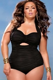 Фото Купальник Plus Size Swimwear  код: sw41467-2
