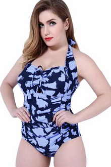 Фото Купальник Plus Size Swimwear  принт код: sw41859-5