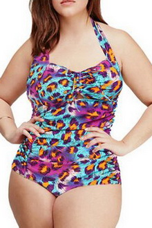 Фото Купальник Plus Size Swimwear  принт код: sw41859-7