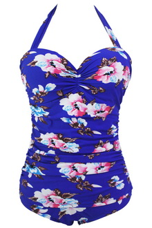 Фото Купальник Plus Size Swimwear  принт код: sw41864-1