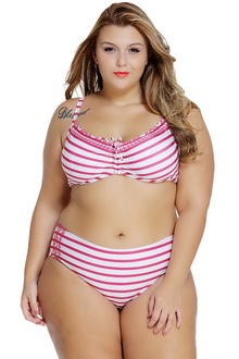 Фото Купальник Plus Size Swimwear  принт код: sw41880-1
