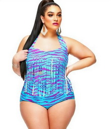 Фото Купальник Plus Size Swimwear  код: sw4472-4