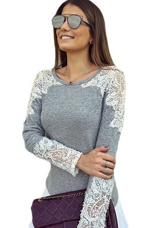 Фото Топ Casual Top Set серый код : top25928