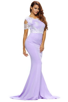 Фото Длинное платье Long Trendy Dress фиолетовый код: dr61238-1